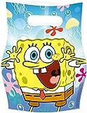 Amscan Sponge Bob Loot Bags (6-Piece)