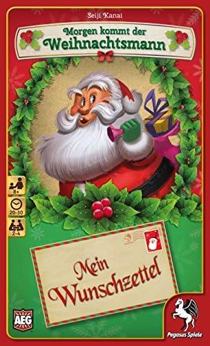 Pegasus Spiele 18212 G – Demain, Demain, Demain, Le Père Noël – Mon souhaits 639e1d