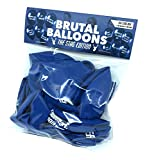 Abusive Stag Do Balloons by Brutal Balloons - 12 Pack.