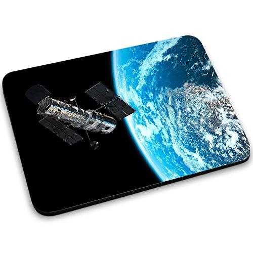 Weltraum 10173, Raumfahrzeug, Mousepad Anti Rutsch Unterseite für Optimalen Halt Kompatibel mit allen Maustypen (Kugel, Optisch, Laser) Ideal für Gamer und für Grafikdesigner.