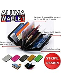 THE GURU SHOP Security Credit Card Wallet 4 Pices/Aluminium RFID Credit Card Holder For Women Or Men RFID Credit...