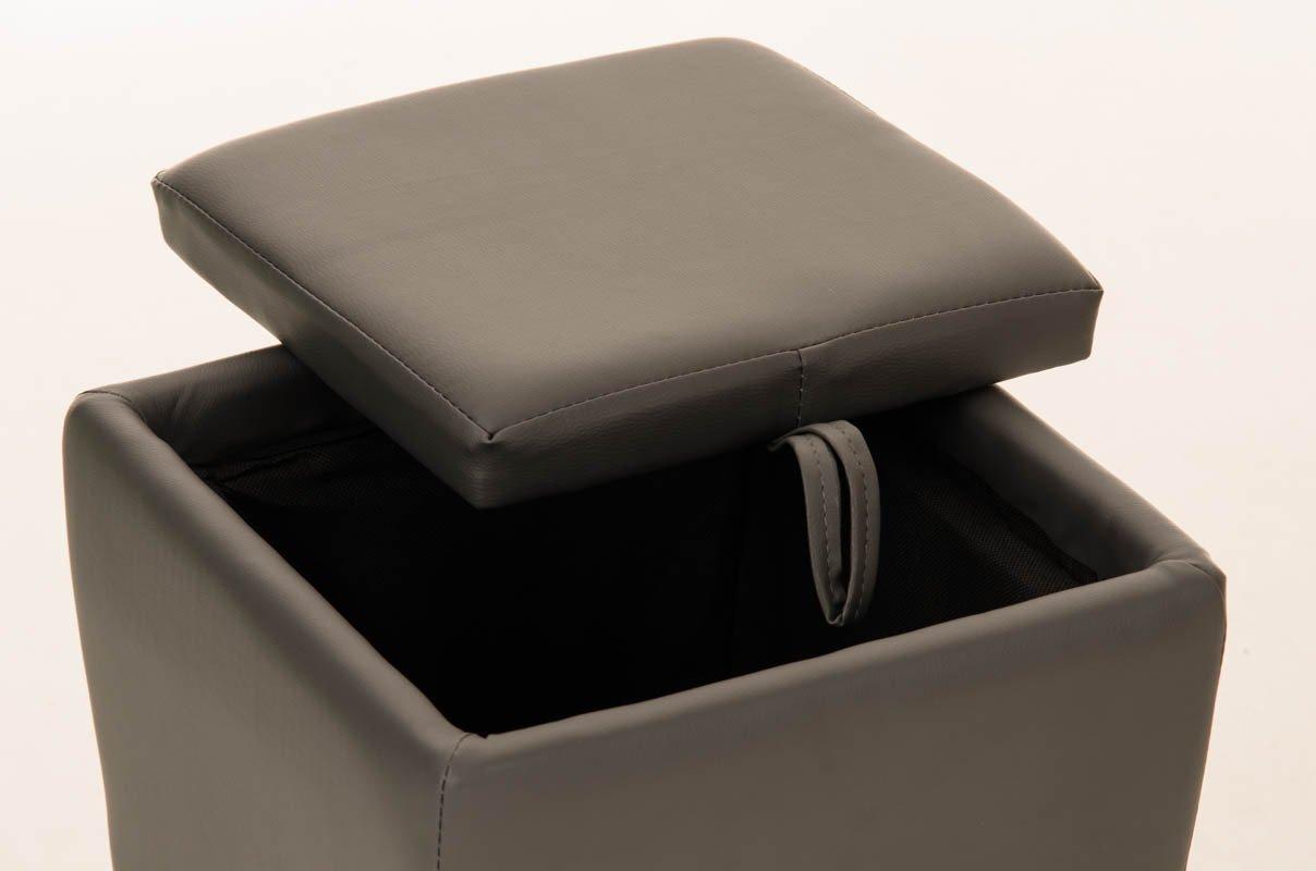 Clp sgabello roxy vano portaoggetti pouf portaoggetti con manico