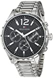 Tommy Hilfiger Unisex Multi Zifferblatt Quarz Uhr mit Edelstahl Armband 1791469