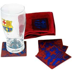 FC Barcelone Bar Set Barca Mini Chiffon Verre pinte bière verre Ligue blaugr anabeer Glass