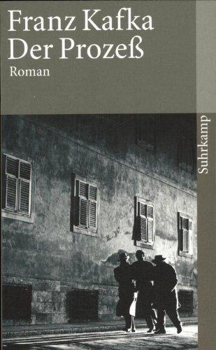Suhrkamp Verlag Der Prozeß: Roman (suhrkamp taschenbuch)