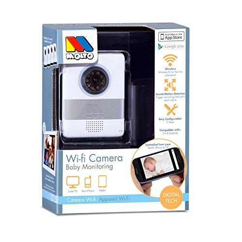 Molto 14753 - Cámara de vigilancia WiFi