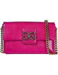 0a9b6e5c4636 Dolce   Gabbana Schultertasche Leder Damen Tasche Umhängetasche Bag  millenials fux