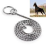JIALUN-Haustier-Produkte 35 cm Pet P Kette Haustier Halsbänder Pet Umhängeband Hund Nackenbügel Schlangenkette Hund Kette Solide Metallkette Hundehalsband