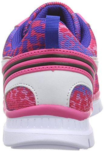 s.Oliver  43201, Sneakers Basses fille Rose - Pink (PINK COMB 519)