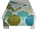beties Momente Tischläufer ca. 40x150 cm in interessanter Größenauswahl hochwertig & angenehm 100% Baumwolle Farbe (Applemint)