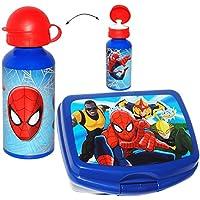 Preisvergleich für alles-meine.de GmbH 2 TLG. Set _ Lunchbox / Brotdose & Trinkflasche - Ultimate Spider-Man - gr..