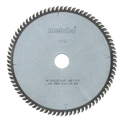 Metabo 628082000 210 x 30 64FZ/TR HW/CT Circular Saw Blade