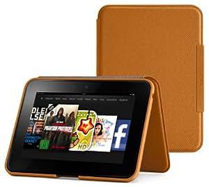 Amazon Kindle Fire HD Lederhülle (2. Generation - 2012 Modell), Hellbraun