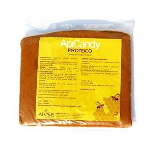 ApiCandy PROTEICO 1kg Pouch - Beekeeping Bee Food Test