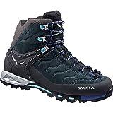 Salewa Damen WS MTN Trainer Mid GTX (O) Trekking- & Wanderstiefel Mehrfarbig (Carbon/River Blue 790) 40 EU