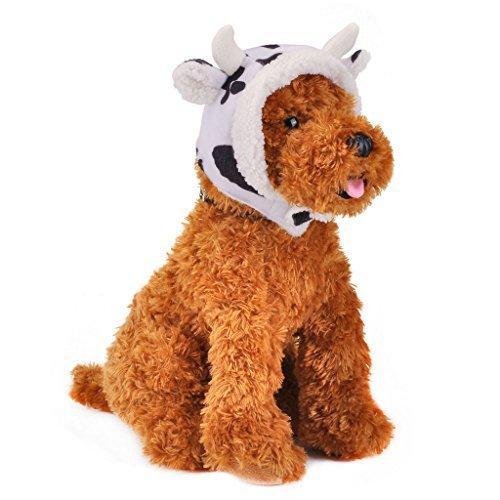 Halloween-Kostüm für Hunde Puppy headgea Katze Cosplay Festivals Geschenk Kätzchen hat Gap Kostüm Weihnachten KLEID bis (2Arten: Kuh und Löwe) (Lion Halloween-kostüm)