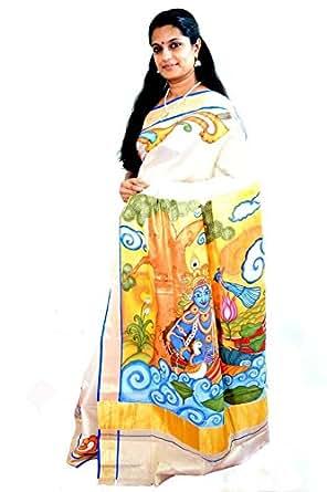 Varnam Cotton Saree (Veda1003_Multi)