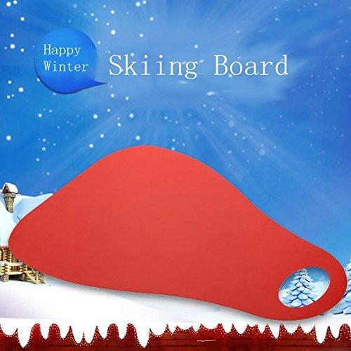 Board Board childred Ski Snow Board Herbe Ski Sled Couleur bleue