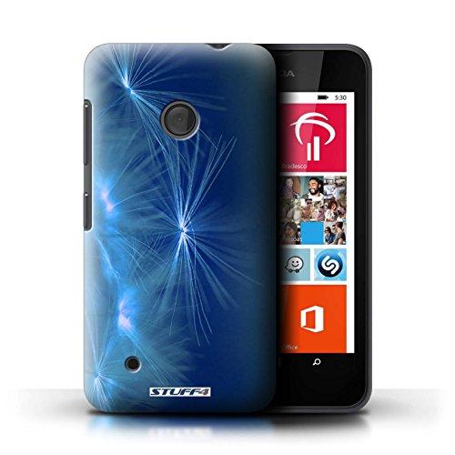 Kobalt® Imprimé Etui / Coque pour Nokia Lumia 530 / Jaune conception / Série Allumez la vie Bleu