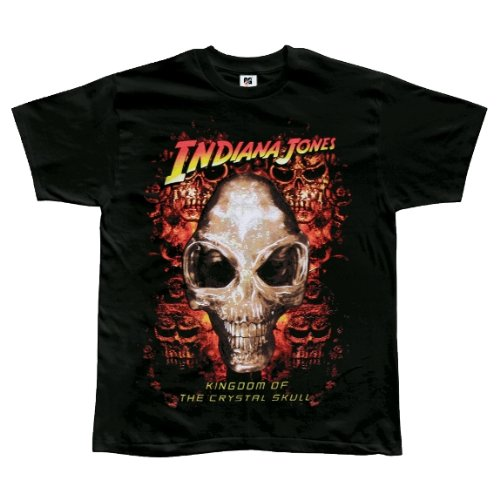 Old Glory Jungen Indiana Jones-Kristall Skull