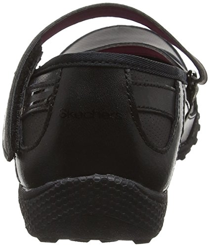 Skechers M&AumlDchen Breathe Easy Mary Jane Halbschuhe Black (Bbk - Black)