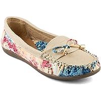 Tashi Women's Beige Loafers (EU 39)