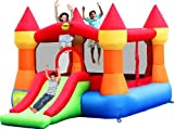 Happy Hop - Bj9017n - Toboggan - Castle Bouncer With Slide