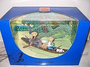 Coffret Couverture L'Oreille Cassée. Tintin. Moulinsart. Hergé.