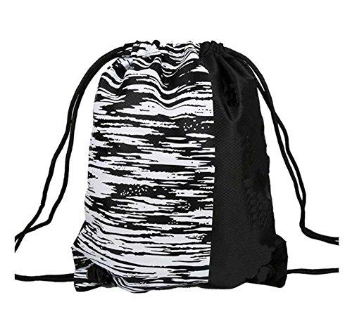 Black Temptation Rucksack, große Kapazität Basketball/Fußball Tasche, Aufbewahrungstasche, E1