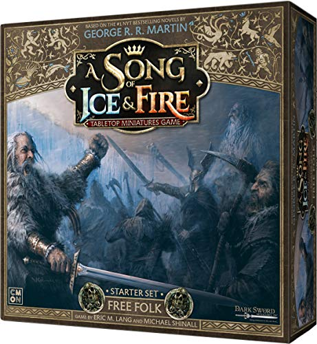 CoolMiniOrNot CMNSIF003 A Song of Ice and Fire Miniaturspiel: Folk Starter Set