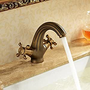 Antike inspiriert Waschbecken Wasserhahn - antike Messing