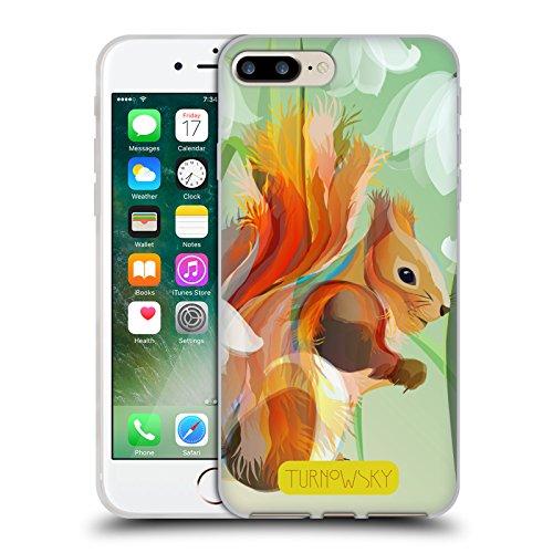 Offizielle Turnowsky Eichhörnchen Echo Soft Gel Hülle für Apple iPhone 6 / 6s Eichhörnchen