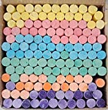 LEEBA Dustless Chalks Assorted Colours 140 pcs (Pack of 1)