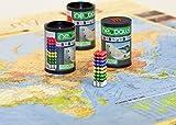 Magnetkugeln NEOBALLS Set 144-teilig grün-gelb-blau-rot, für Markierungen auf Landkarten -