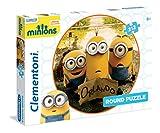 Clementoni 21404.4 - 212 T Rund Minions, Klassische Puzzle