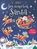 Santa (Usborne First Sticker Books)