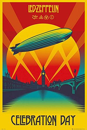 LED Zeppelin-poster-Celebration Day + Poster a sorpresa