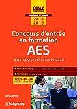 Concours d'entrée en formation AES