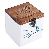 Specifica:Condizione: 100% nuovoTipo di pietra: legno salvadanaioMateriale: legnoopzionale: Uccelli, ramiPeso netto: circa 320gPeso del pacchetto: circa 330gDimensione: 10*10*10cm/9,9x 9,9x 9,9cmContenuto della confezione:1x legno sal...