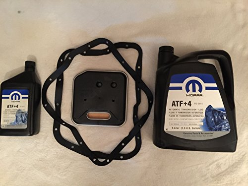 Mopar Wix Service Kit Automatikgetriebe Filter + 6L ATF+ 4 Grand Cherokee ZJ & WJ 1993-2004 42RE 44re 46re (Grand Cherokee Service)