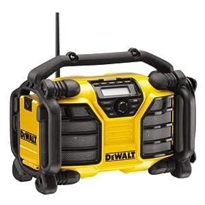 51J%2BFSnS1rL. SS300  - DeWalt DCR017XR DAB Radio Cargador y gama