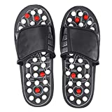 SUPVOX 1Pair Massage Slippers Therapeutic Acupuncture Massage Ball Sandals Foot Relaxation Massager Flip