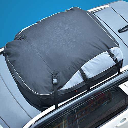 ZQQ Autodachboxen Mit Gürtelschnalle, Wasser- Und Regensichere Auto-Reisetasche, Fahrzeug-Softshell-Träger,L