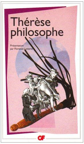 Thérèse philosophe : Ou Mémoires pour servir à l'histoire du Père Dirrag et de Mademoiselle Eradice par Anonyme