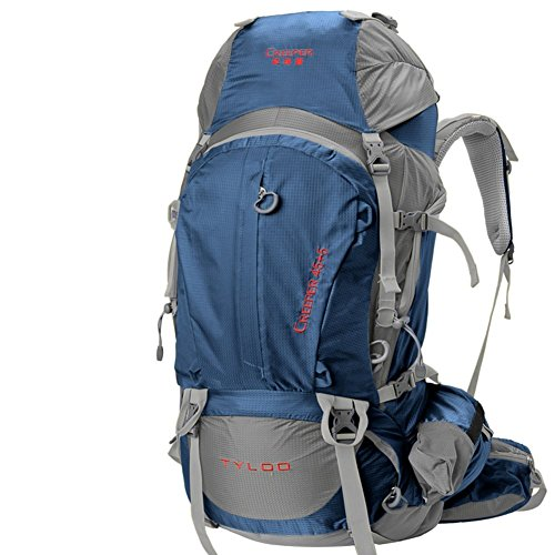 Sincere® Package / / Portable sac / sac à dos / de Voyage en plein air Sacs à dos / Ultraléger extérieure épaule d'alpinisme 50L bleu 70L