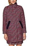 ESPRIT Damen Mantel 128EE1G020, Mehrfarbig (Dark Red 610), X-Large (Herstellergröße:XL)