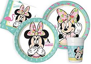 Ciao - Minnie Kit Party Tabla, multicolor, L (24 Personas), y4613