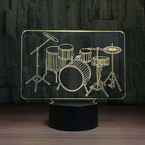 Bbdeng 3D-Nachtlicht Schlaginstr...