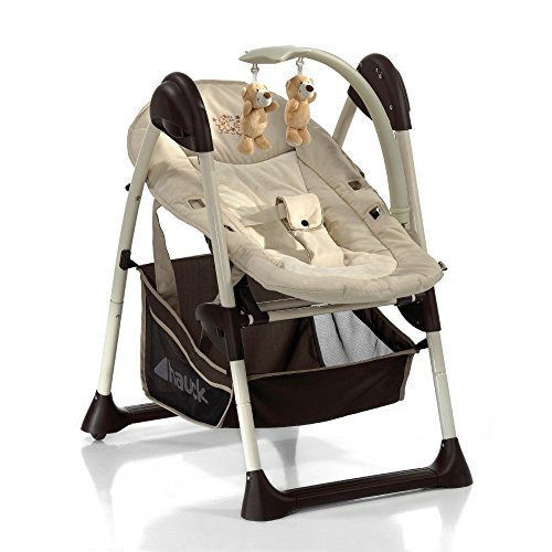 Hauck Sit'n Relax Babyliege und Hochstuhl ab Geburt mit Liegefunktion, mitwachsend, höhenverstellbar, Zoo