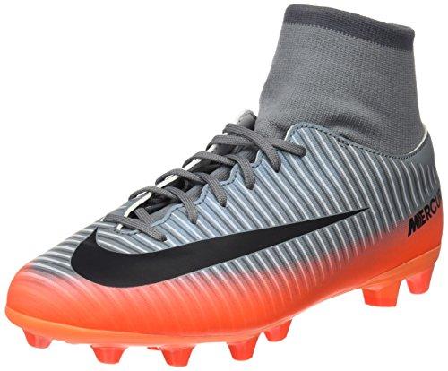 Nike Jr Mercurl Vcty 6 Cr7 Df Agpro Zapatillas, Niños, Gris, 38.5